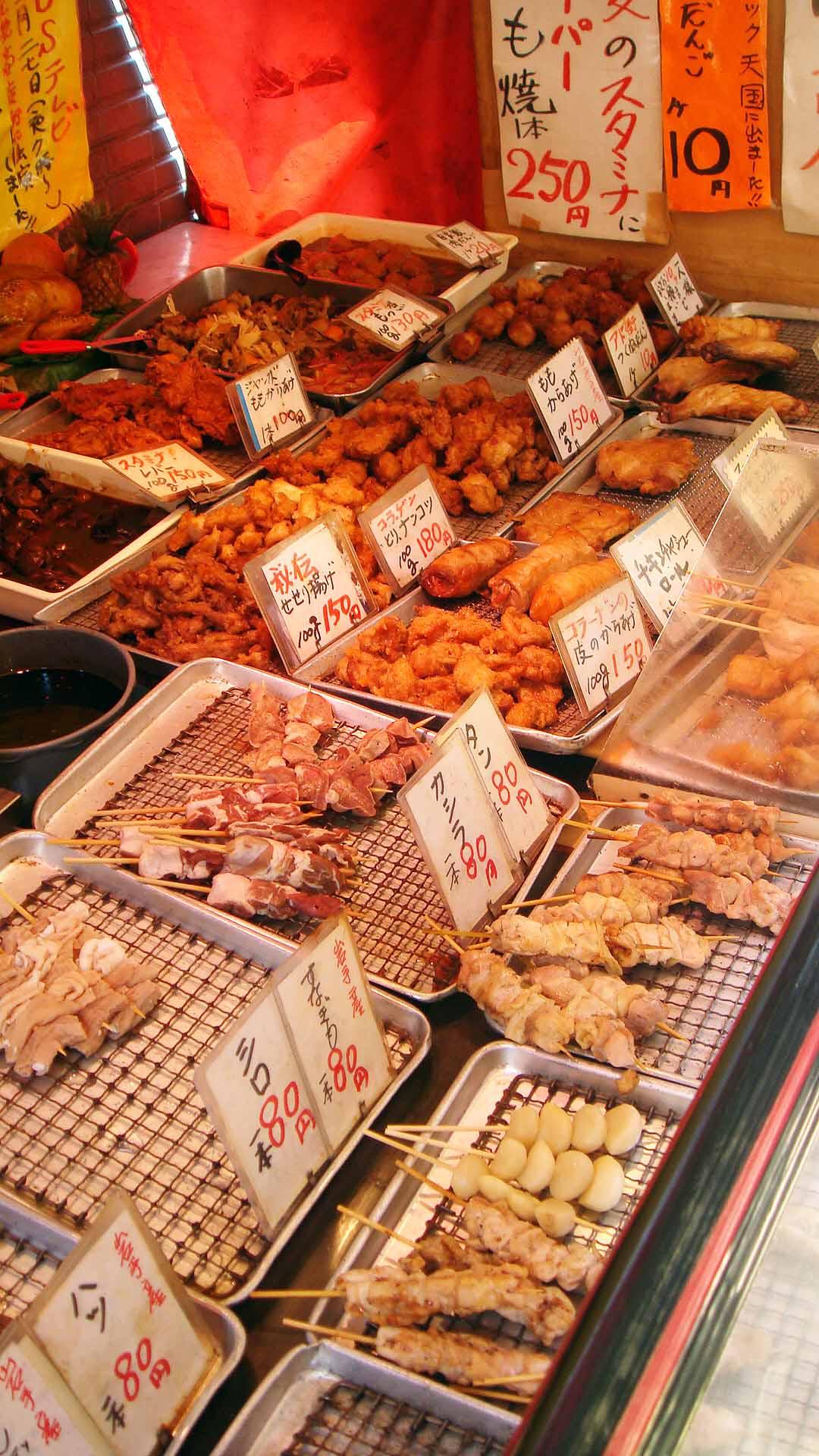 火・金曜日は焼き鳥が全て50円のサービス!