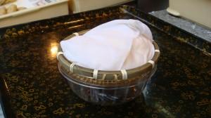 大豆を高濃度抽出製法で作られた自慢の「ざる豆腐」